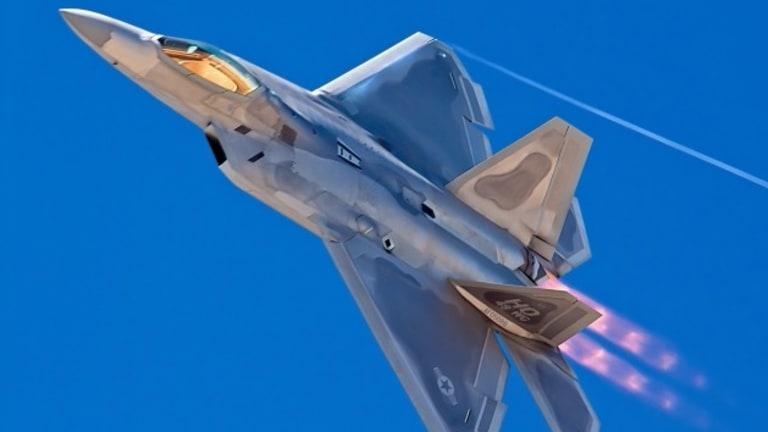 Air Force Preps F-22 for 2060 - New Sensors, Radar, Avionics & AI