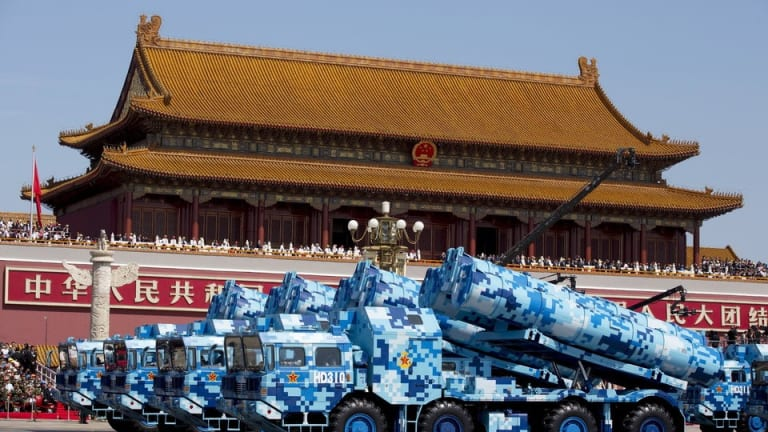 Beijing responds to US B-52s over South China Sea with anti-aircraft drill