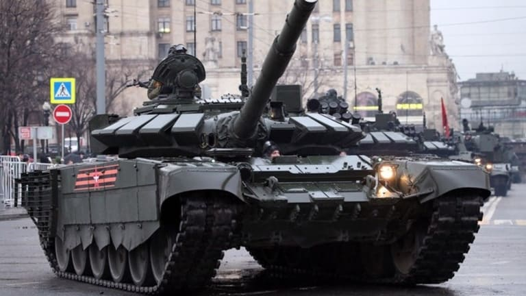 Russia Plans to Use Tanks as Decoys to Kill Enemy Artillery