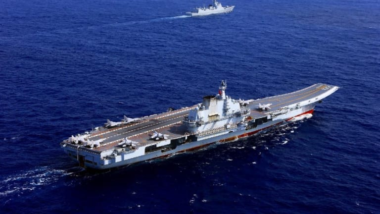 """China's Second Aircraft Carrier to """"Fire Weapons"""" in The South China Sea"""