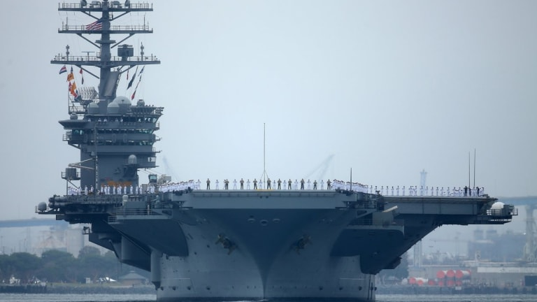 U.S. Navy Challenges China With War Operations Ops With India