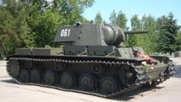 The KV-1 Tank Blundered Its Way Into History