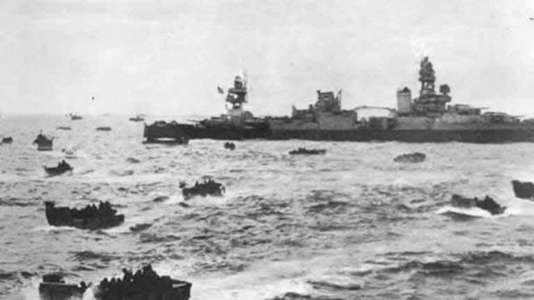 Nazis Attack US Battleships: Operation Neptune - US Navy D-Day Omaha Invasion