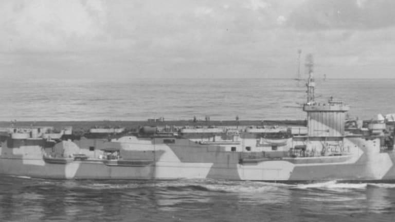 Viet Cong Commandos Sank an American Aircraft Carrier