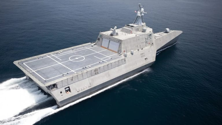 Navy Pursues Large, Automated Unmanned Robotic Warships
