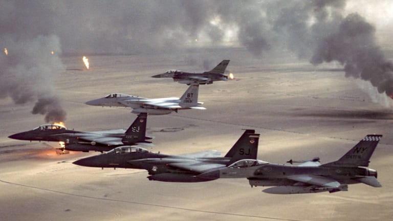 """How The Gulf War Combat Debut of - """"Stealth & GPS"""" - Transformed War"""