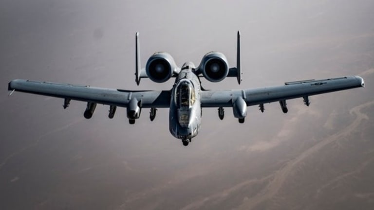 8 Amazing Photos of A-10 Warthogs over Afghanistan