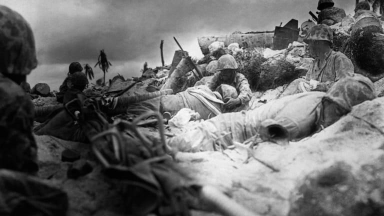 Video: 100-Year-Old Marine Corps Veteran Describes Battle of Tarawa