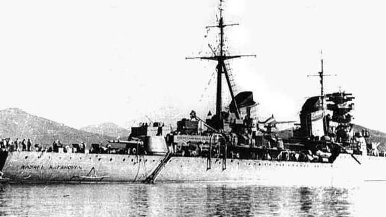 The Soviet Cruiser 'Kaganovich' Navigated Political Purges