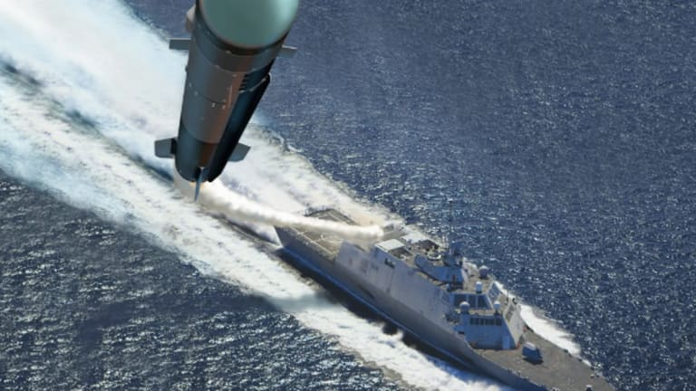 Navy Adapts LCS Attack Strategy, Shoots HELLFIRE in Live-Fire