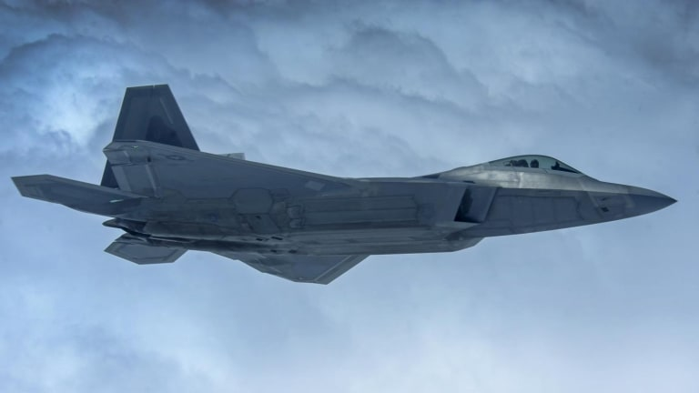 Flying On-Board Mission During Air Force Wargame: Why is F-22 Stealth Effective?