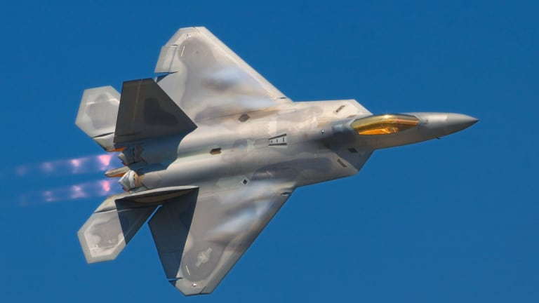 The Air Force is turning the F-22 into a sniper