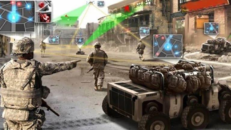 """DARPA SQUAD X - """"Fuses"""" Grenades, Drones, Robots, Ground Radar"""