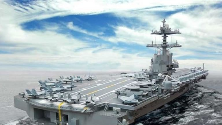 Russian & China vs US Ford Carriers