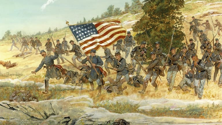 Medal of Honor Monday: Army Maj. Gen. Joshua Chamberlain