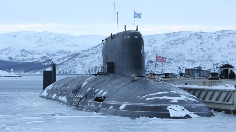 Russia's Most Advanced (And Stealthly) Nuclear Submarine Ever Just Went to Sea