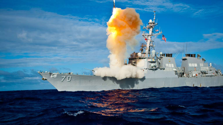 Navy Weapon Destroys Anti-Ship Cruise Missile