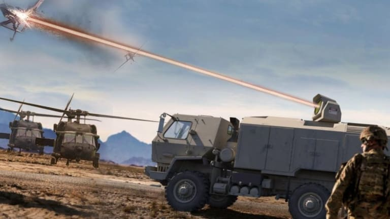 Army Fast-Tracks New Laser Weapons For Combat Vehicles