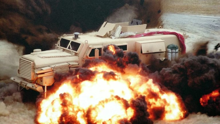 Remember MRAPs? How They Survived Massive Explosions and Saved Lives in War