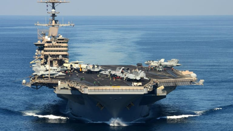 Want to Sink a U.S. Navy Aircraft Carrier? 5 Reasons It Might Be Impossible