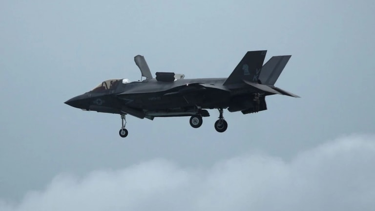 Navy Uses Lasers to Keep F-35 Stealthy