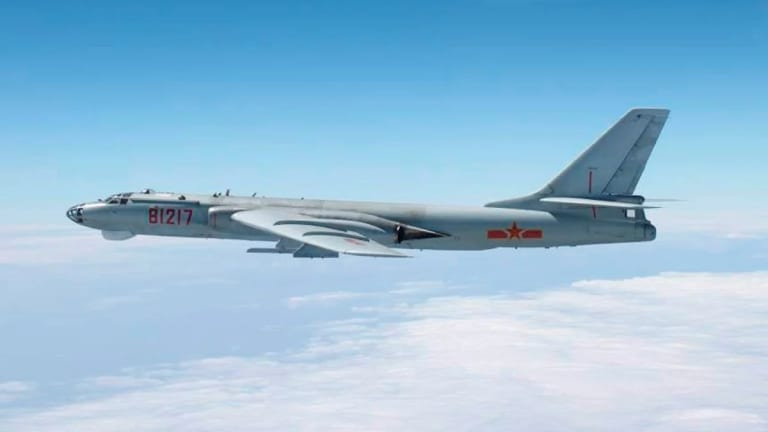China Posted A Video Simulating an Attack on Guam with H-6K Bomber