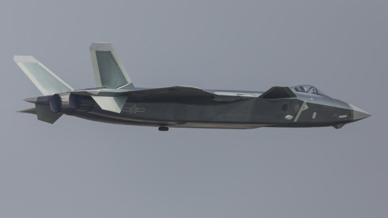 Chinese Fighters Are No Match for an F-22 or F-35
