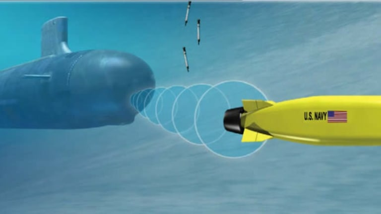 Navy Builds New Large Undersea Sub-Launched Drone Prototypes