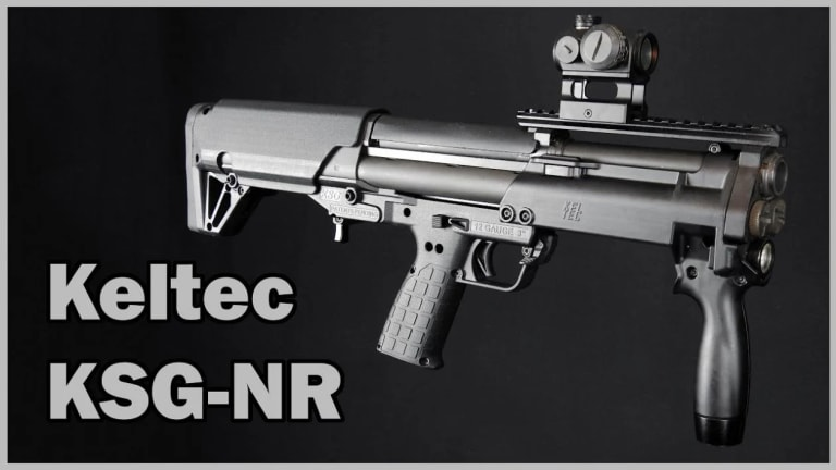 The Kel-Tec KSG: The Ultimate Close Quarters Combat Shotgun