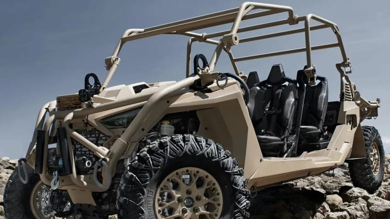 New Special Operations Light Attack Vehicle Will Fire Lasers