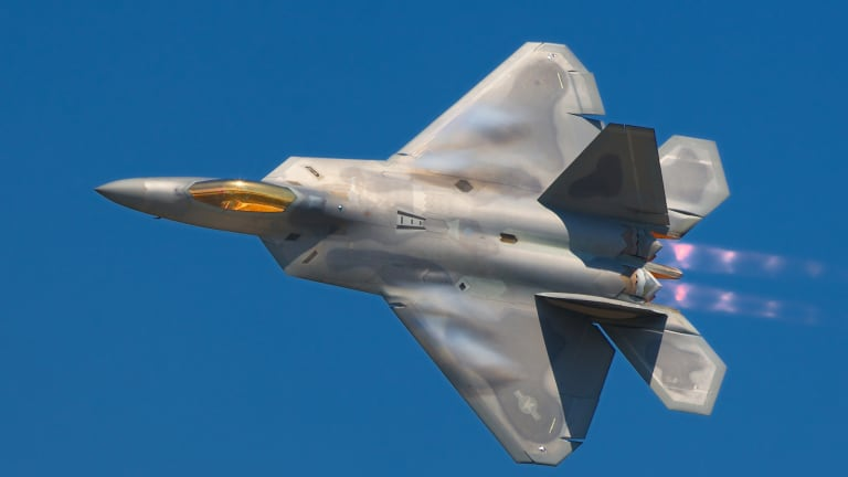 New Navigation Technology Helps F-22 Sharpen Angles of Attack