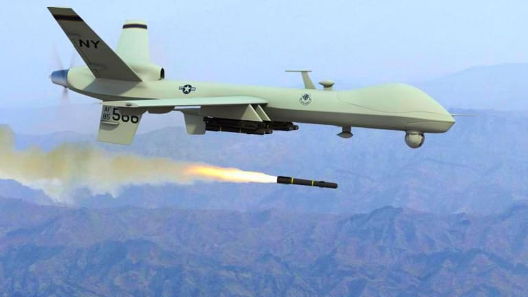 """New Chinese Reaper """"Rip-Off"""" Large Drone Fires Anti-Ship Missiles"""