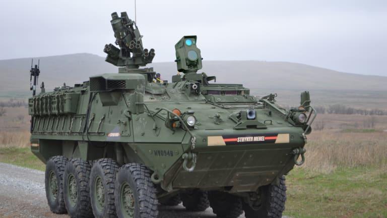 Army Stryker Laser Incinerates Drones