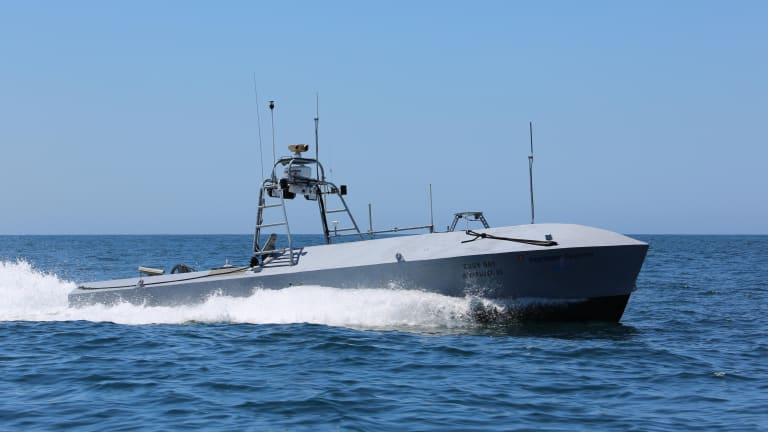 With Sea Drones - Navy Seeks Thousands of Ships