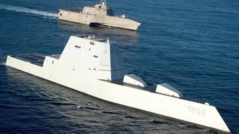 US Navy Zumwalt Gets Lasers, Advanced Weapons to Hit Moving Targets