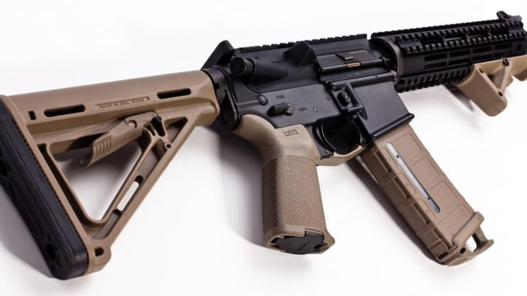 This AR-15 is Classified as a Pistol