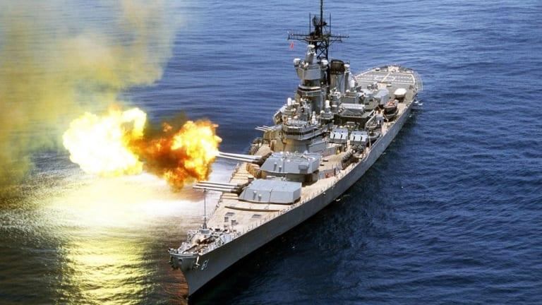 How Iowa-Class Battleships Waged War from World War II to Desert Storm