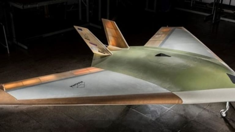 New Stealth Drone Has No Moving Control Surfaces