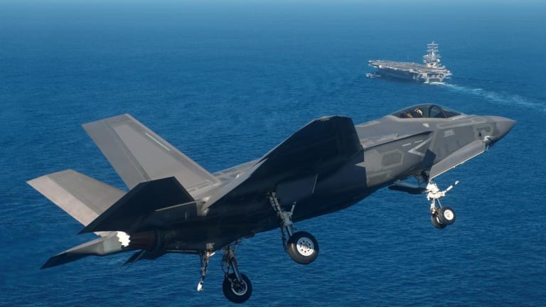 Navy Modifies Its Aircraft Carriers for F-35C Stealth Attack