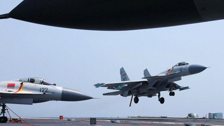 China Has Its Own Deadly Aircraft Carrier Jets