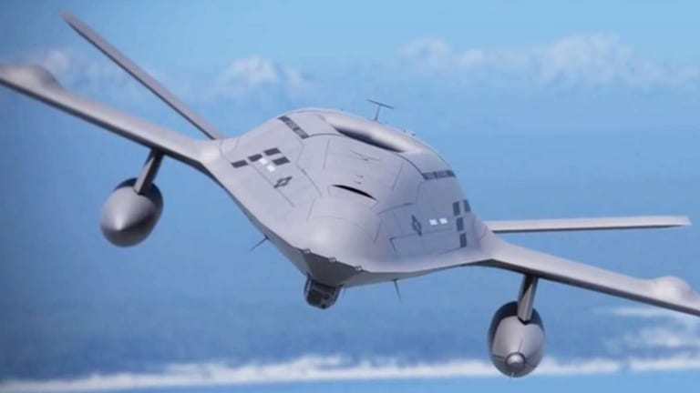 Navy Starts Building 1st Carrier Launched Drone Ever