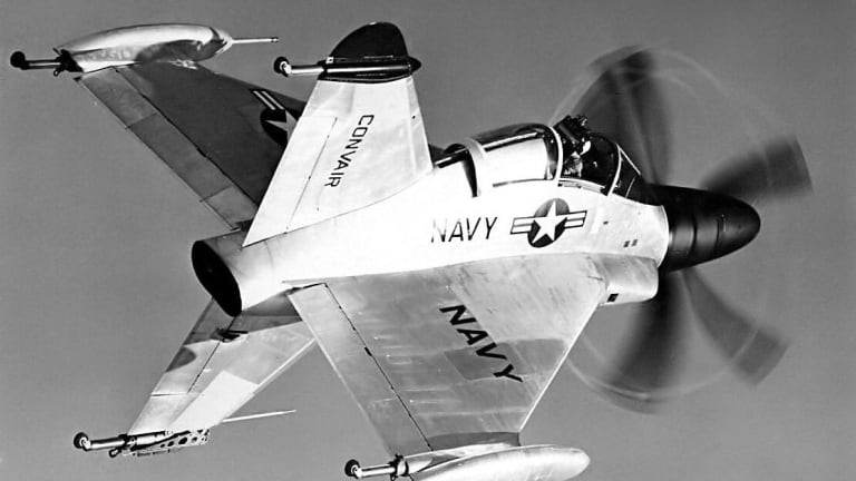 This Plane Almost Flew from Navy Aircraft Carriers