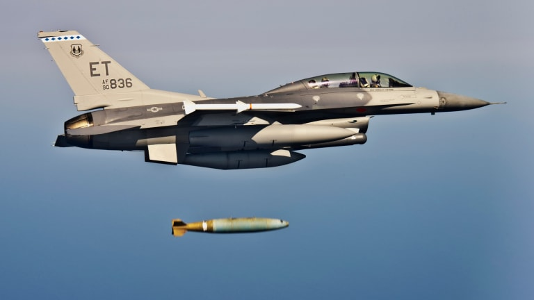 """Air Force Revs Up Production of Precision Bomb Called """"Worlds Largest Sniper"""""""