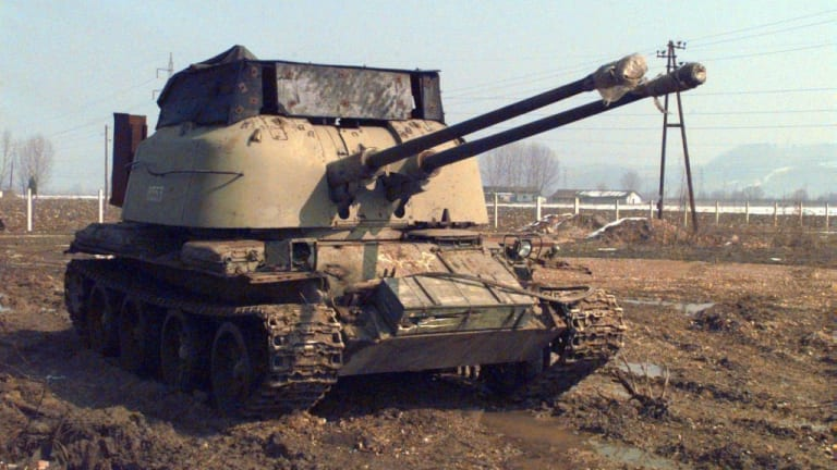 This Russian Tank was Packing Anti-Aircraft Turrets