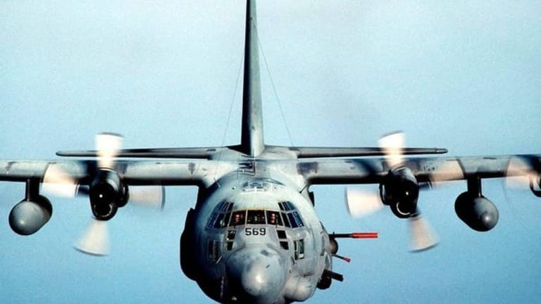 Attacking in the AC-130 Gunship