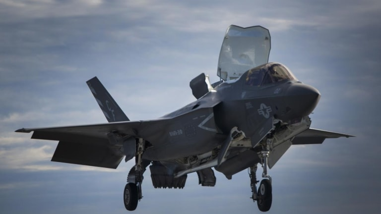 Navy Uses Lasers to Sustain F-35 Stealth Attack