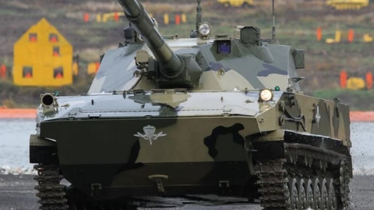 Russia Testing New Tank That Lands From the Sky