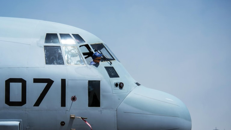 The Marines Are Transforming Their KC-130J Tankers into Missile Gunships