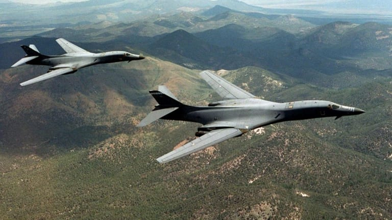 Why the B-1 Bomber Is a Flying Missile Truck