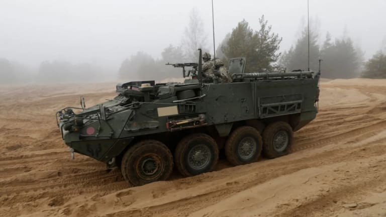 The Army Stryker Receives New Firepower to Attack for Decades to Come